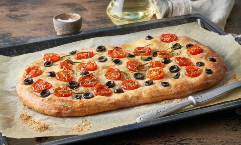 Focaccia (İtalyan Ekmeği) Tarifi