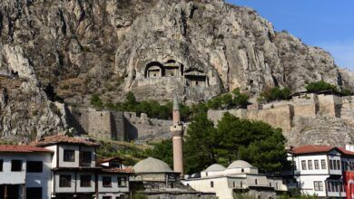 Kral Kaya Mezarları - Amasya