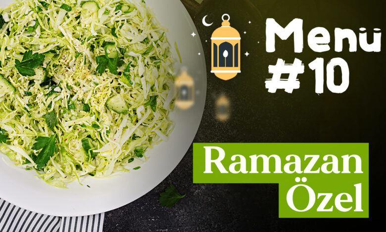 Ramazan 10. Gün İftar Menüsü