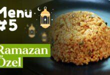 Ramazan 5. Gün İftar Menüsü
