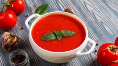 Közlenmiş Domates Çorbası Tarifi
