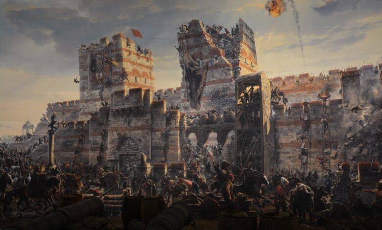 Temsili Cihat Görseli İstanbul'un Fethi