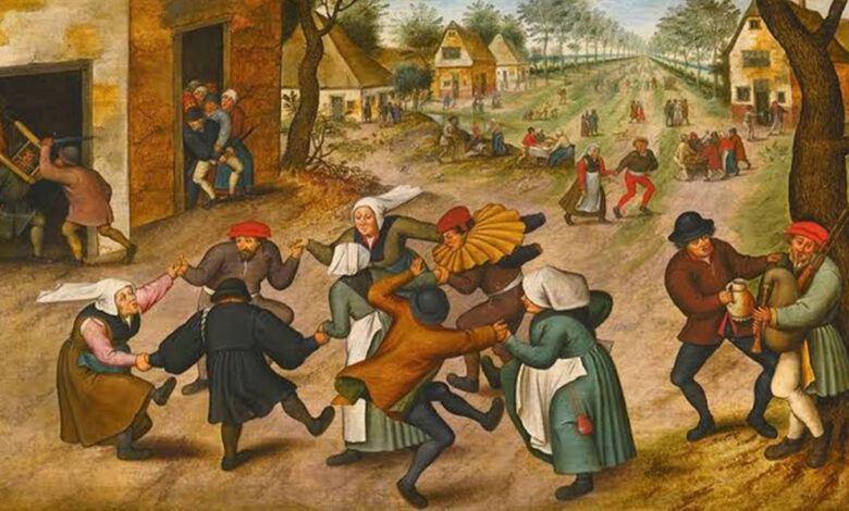 1518 Dans Vebası Hastalığı Temsili Resmi