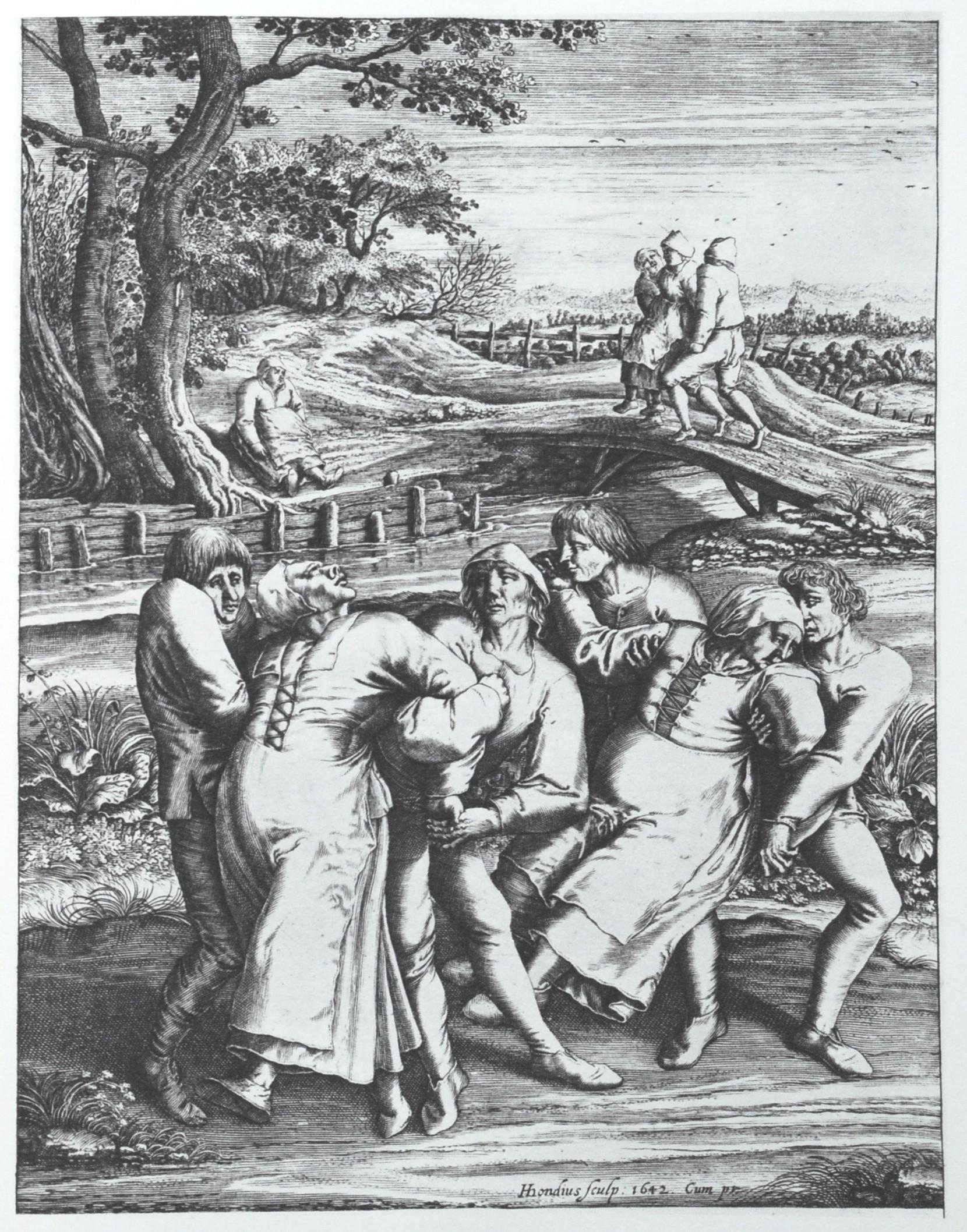 Dans Vebası Gravür Çalışması